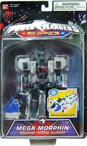 Power Rangers SPD Action Figure Mega Morphin Shadow Power Ranger