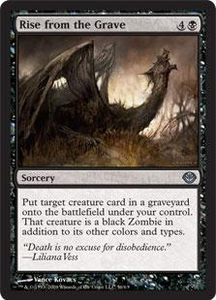 Magic the Gathering Duel Decks: Garruk vs. Liliana Single Card Uncommon #56 Rise from the Grave