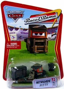 Disney / Pixar CARS Movie 1:55 Die Cast Car Series 4 Race-O-Rama Nitroade Pitty