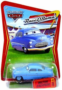 Disney / Pixar CARS Movie 1:55 Die Cast Car Series 4 Race-O-Rama Milton Calypeer