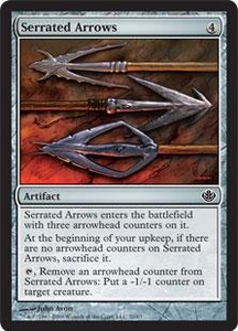 Magic the Gathering Duel Decks: Garruk vs. Liliana Single Card Common #20 Serrated Arrows