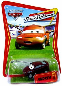 Disney / Pixar CARS Movie 1:55 Die Cast Car Series 4 Race-O-Rama Andrea