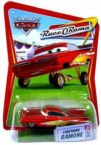 Disney / Pixar CARS Movie 1:55 Die Cast Car Series 4 Race-O-Rama Lightning Ramone