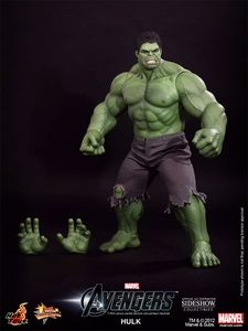 Avengers Hot Toys Movie 1/6 Scale Collectible Figure Hulk