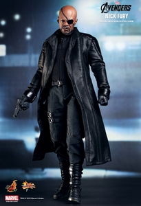 Avengers Hot Toys Movie 1/6 Scale Collectible Figure Nick Fury