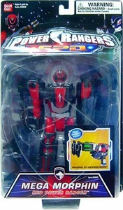 Power Rangers SPD Action Figure Mega Morphin Red Power Ranger