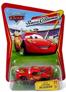 Disney / Pixar CARS Movie 1:55 Die Cast Car Series 4 Race-O-Rama Cactus Lightning McQueen