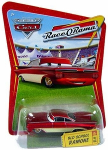 Disney / Pixar CARS Movie 1:55 Die Cast Car Series 4 Race-O-Rama Old School Ramone [Red & White]
