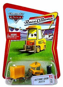 Disney / Pixar CARS Movie 1:55 Die Cast Car Series 4 Race-O-Rama Octane Gain Pitty [Dudley Spare]