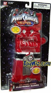 Power Rangers SPD Roleplay Red Ranger Electronic Gloves