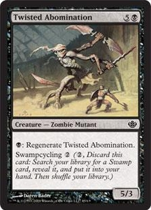 Magic the Gathering Duel Decks: Garruk vs. Liliana Single Card Common #45 Twisted Abomination