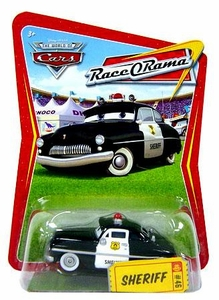 Disney / Pixar CARS Movie 1:55 Die Cast Car Series 4 Race-O-Rama Sheriff