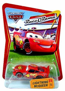 Disney / Pixar CARS Movie 1:55 Die Cast Car Series 4 Race-O-Rama Lightning McQueen
