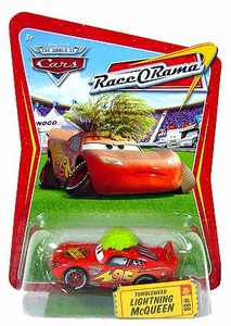 Disney / Pixar CARS Movie 1:55 Die Cast Car Series 4 Race-O-Rama Tumbleweed Lightning McQueen