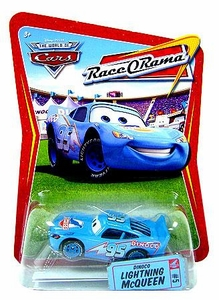 Disney / Pixar CARS Movie 1:55 Die Cast Car Series 4 Race-O-Rama Dinoco Lightning McQueen