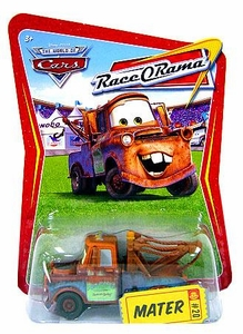 Disney / Pixar CARS Movie 1:55 Die Cast Car Series 4 Race-O-Rama Mater [Brown]