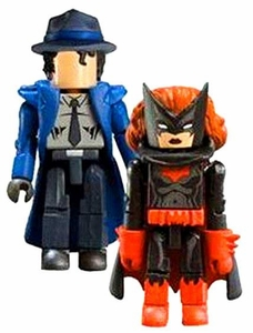 DC Universe Minimates Series 8 Mini Figure 2-Pack Question & Batwoman