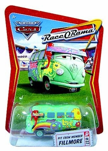 Disney / Pixar CARS Movie 1:55 Die Cast Car Series 4 Race-O-Rama Pit Crew Member Fillmore