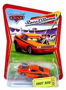 Disney / Pixar CARS Movie 1:55 Die Cast Car Series 4 Race-O-Rama Snot Rod