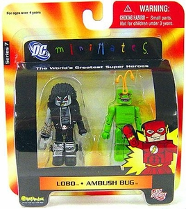 DC Universe Minimates Series 7 Mini Figure 2-Pack Lobo & Ambush Bug