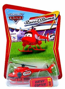 Disney / Pixar CARS Movie 1:55 Die Cast Car Series 4 Race-O-Rama Kathy Copter