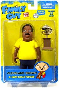 Mezco Toyz Family Guy Classic Series 2 Action Figure Cleveland Brown