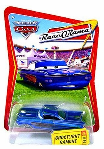 Disney / Pixar CARS Movie 1:55 Die Cast Car Series 4 Race-O-Rama Ghostlight Ramone