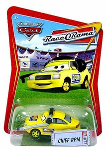 Disney / Pixar CARS Movie 1:55 Die Cast Car Series 4 Race-O-Rama Chief RPM