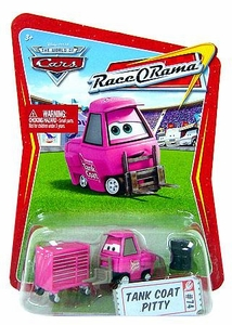 Disney / Pixar CARS Movie 1:55 Die Cast Car Series 4 Race-O-Rama Tank Coat Pitty