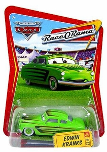 Disney / Pixar CARS Movie 1:55 Die Cast Car Series 4 Race-O-Rama Edwin Kranks