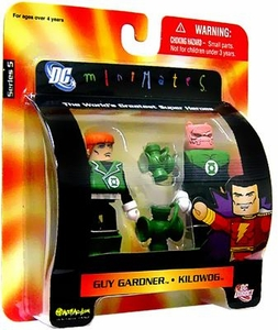 DC Universe Minimates Series 5 Mini Figure 2-Pack Guy Gardner & Kilowog
