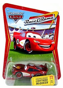 Disney / Pixar CARS Movie 1:55 Die Cast Car Series 4 Race-O-Rama Radiator Springs Lightning McQueen