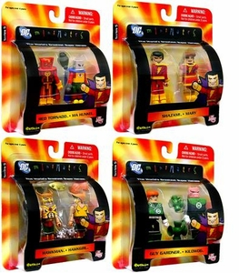 DC Universe Minimates Series 5 Set of 4 Mini Figure 2-Packs