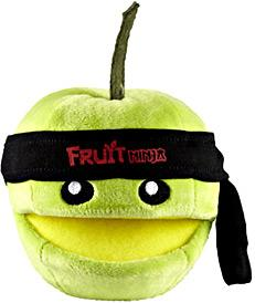 Fruit Ninja 5 Inch MINI Plush Green Apple