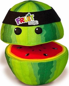 Fruit Ninja 5 Inch MINI Plush Watermelon