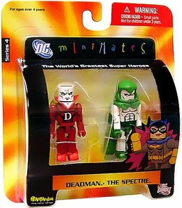DC Universe Minimates Series 4 Mini Figure 2-Pack Deadman & Spectre