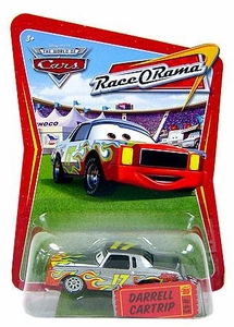 Disney / Pixar CARS Movie 1:55 Die Cast Car Series 4 Race-O-Rama Darrell Cartrip