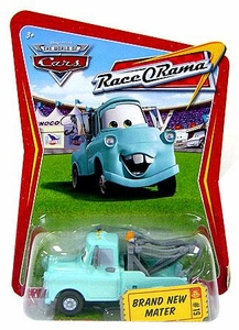 Disney / Pixar CARS Movie 1:55 Die Cast Car Series 4 Race-O-Rama Brand New Mater [Teal]