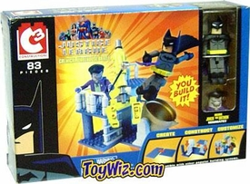 Batman C3 Mini Figure Playset Chemical Warehouse Battle with Batman vs. Joker