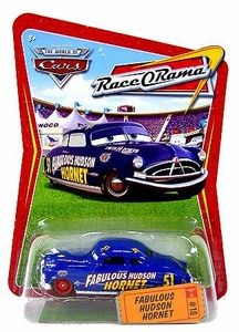 Disney / Pixar CARS Movie 1:55 Die Cast Car Series 4 Race-O-Rama Fabulous Hudson Hornet