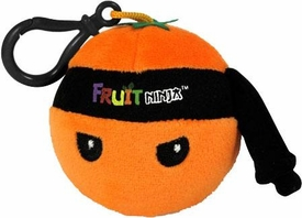Fruit Ninja Clip-On Plush Orange