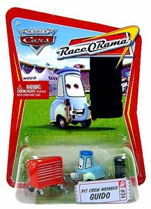 Disney / Pixar CARS Movie 1:55 Die Cast Car Series 4 Race-O-Rama Pit Crew Member Guido