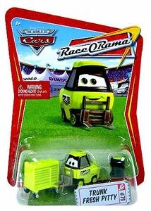 Disney / Pixar CARS Movie 1:55 Die Cast Car Series 4 Race-O-Rama Trunk Fresh Pitty