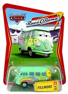 Disney / Pixar CARS Movie 1:55 Die Cast Car Series 4 Race-O-Rama Fillmore