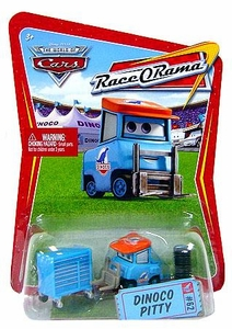Disney / Pixar CARS Movie 1:55 Die Cast Car Series 4 Race-O-Rama Dinoco Pitty [Luke Pettlework]