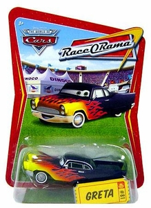 Disney / Pixar CARS Movie 1:55 Die Cast Car Series 4 Race-O-Rama Greta