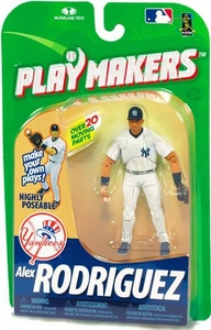 McFarlane Toys MLB Playmakers Series 1 Action Figure Alex Rodriguez (New York Yankees) [Fielding Version]