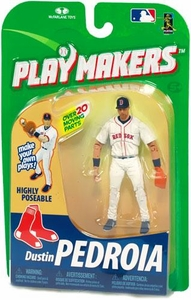 McFarlane Toys MLB Playmakers Series 1 Action Figure Dustin Pedroia (Boston Red Sox) [Fielding Version]