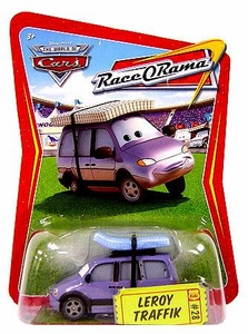 Disney / Pixar CARS Movie 1:55 Die Cast Car Series 4 Race-O-Rama Leroy Traffik