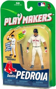 McFarlane Toys MLB Playmakers Series 1 Action Figure Dustin Pedroia (Boston Red Sox) [Batting Version]